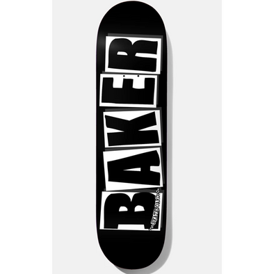 Baker Brand Logo black/white Deck