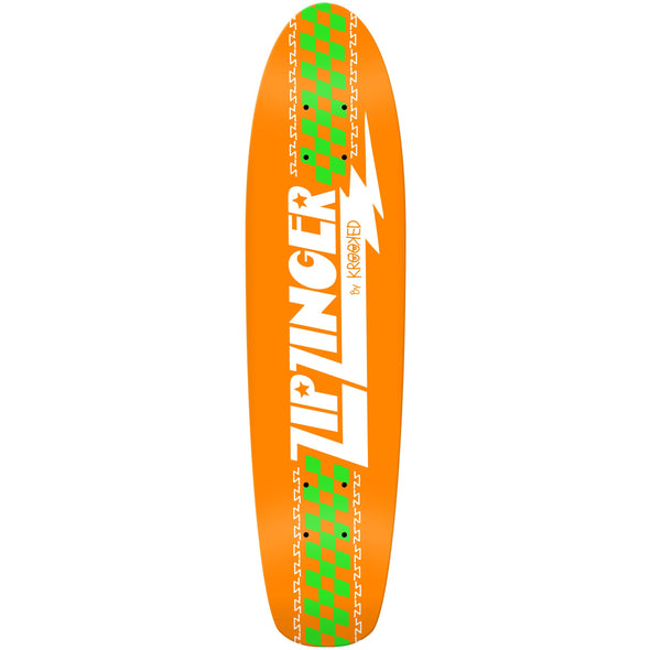 Krooked Zip Zinger OG Orange 7.75 Deck