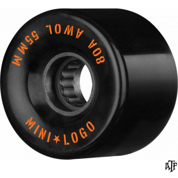 Mini Logo A.W.O.L Black 55mm 80a Cruiser Wheels