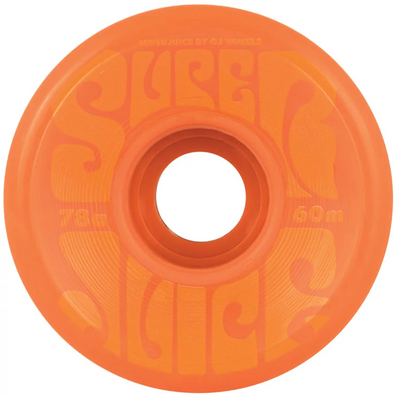 Oj Super Juice Orange 60mm Cruiser Wheels