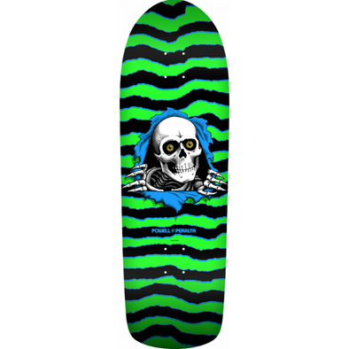 Powell Peralta Old School Ripper green/black 10 Deck