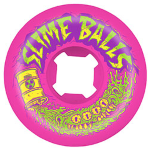 Slime Balls Toxic Terror Speed Balls 54mm Wheels