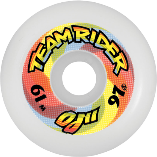 Oj II Team Rider Speed Wheels White 61mm Wheels