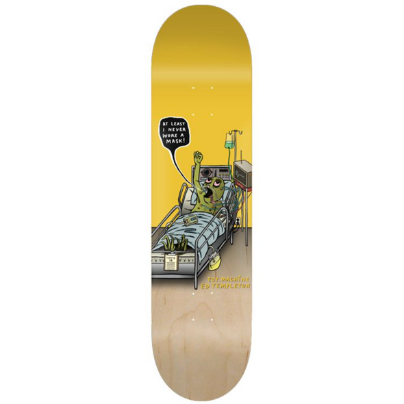 Toy Machine Ed Templeton Mask 8.50 Deck