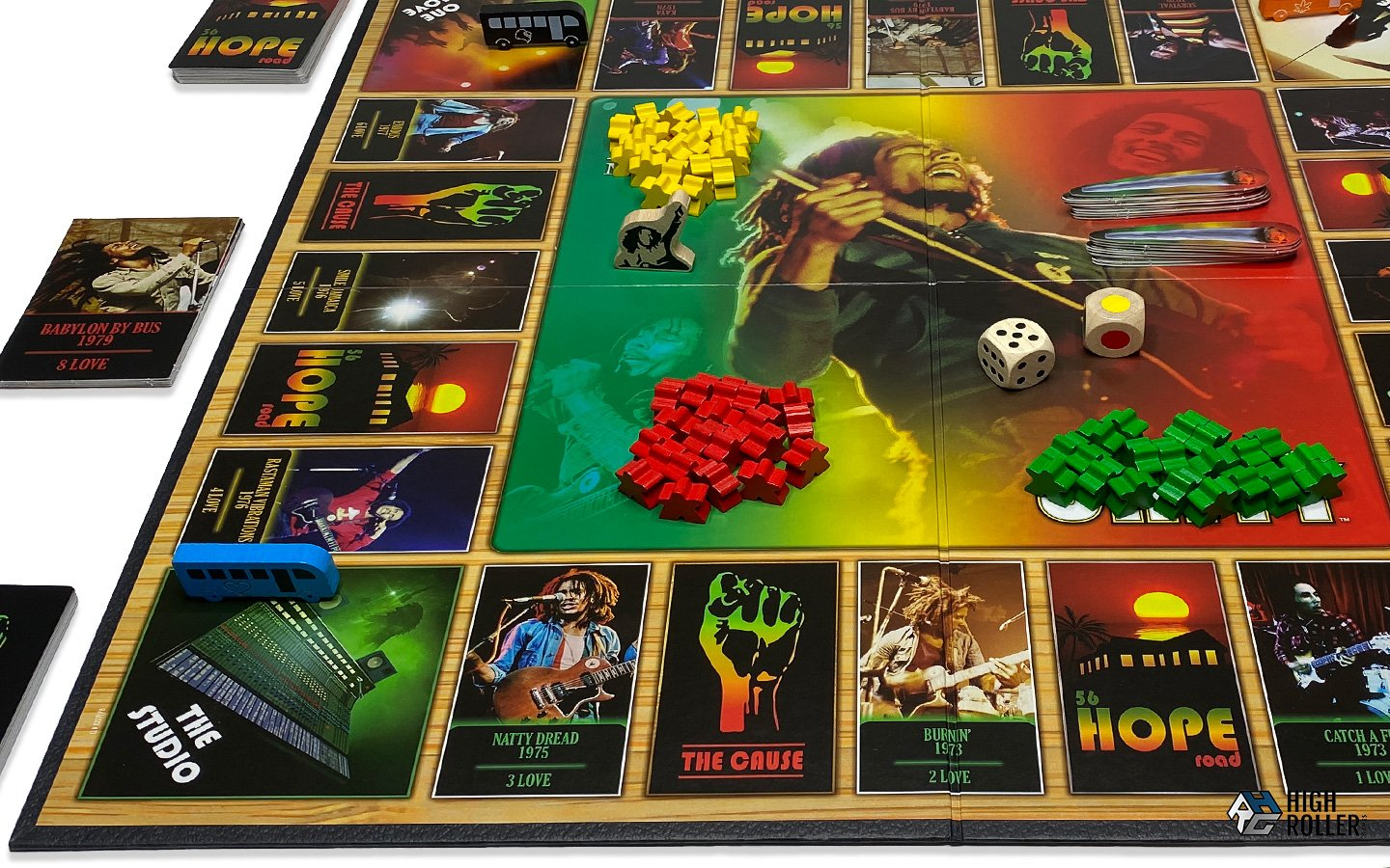 NEW! Bob Marley: The Game of Love, Peace and Unity Int.