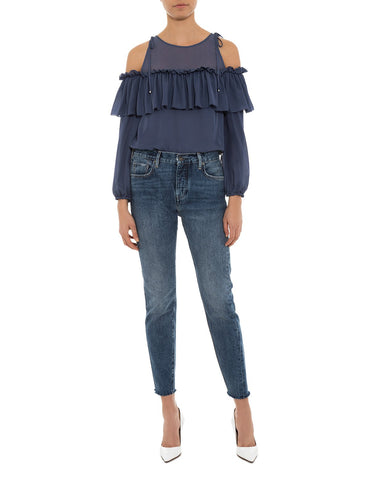 Francisco Cold Shoulder Top