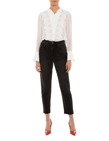 Kate Lace Tux Blouse