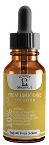 10% Lugols Iodine Solution Drops Thyroid Support Supplement 2oz - Lugols Originals