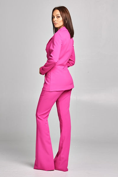 POSH BOSS PANTS SET (FUCHSIA)