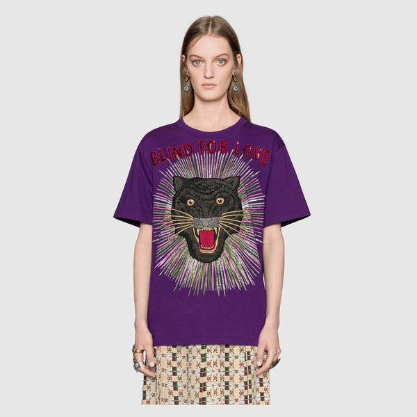 PANTHER WITH RAYS GUCCI TSHIRT