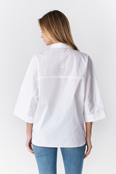 IVY BUTTON DOWN TOP