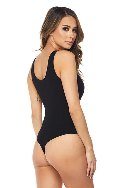 BLACK BOMB BODYSUIT