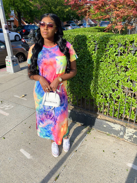 Favorite Tie Dye T-shirt Dress