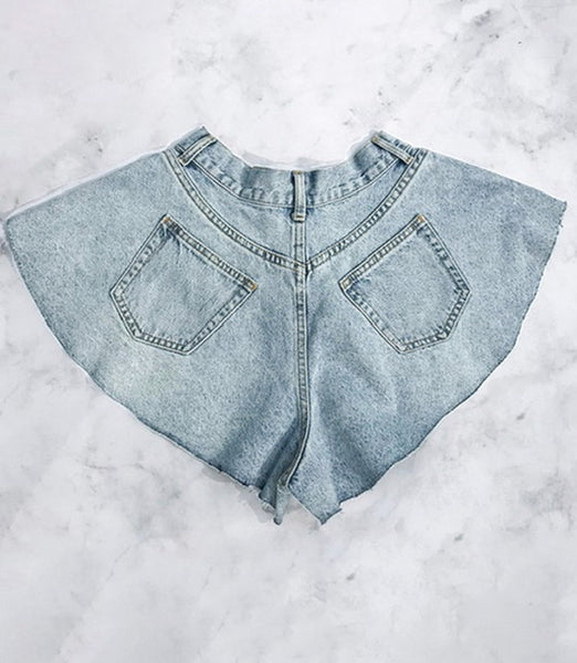 Wangn' Out Denim Shorts