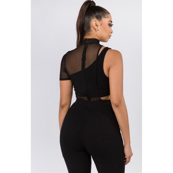 Black Bombshell Jumpsuit