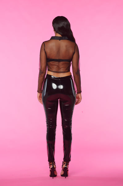 VIXEN LATEX STRETCH PANTS