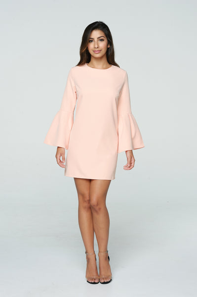 LOLA FLARE SLEEVE DRESS II