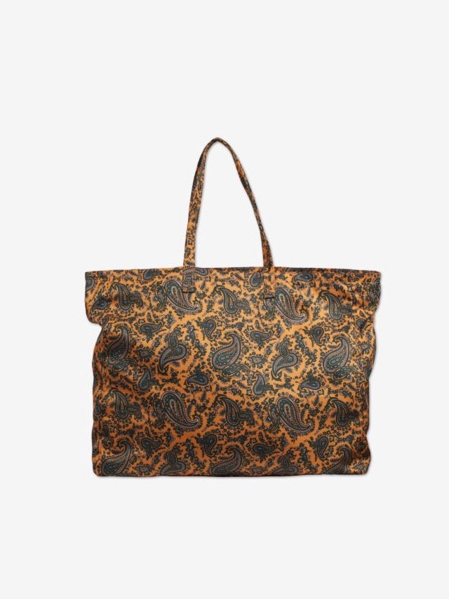 Kory Bag - Orange Paisley