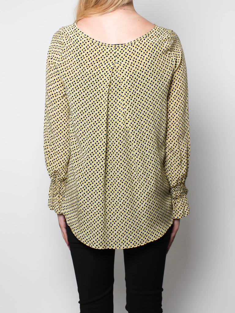 Ani Shirt - Blue Spot