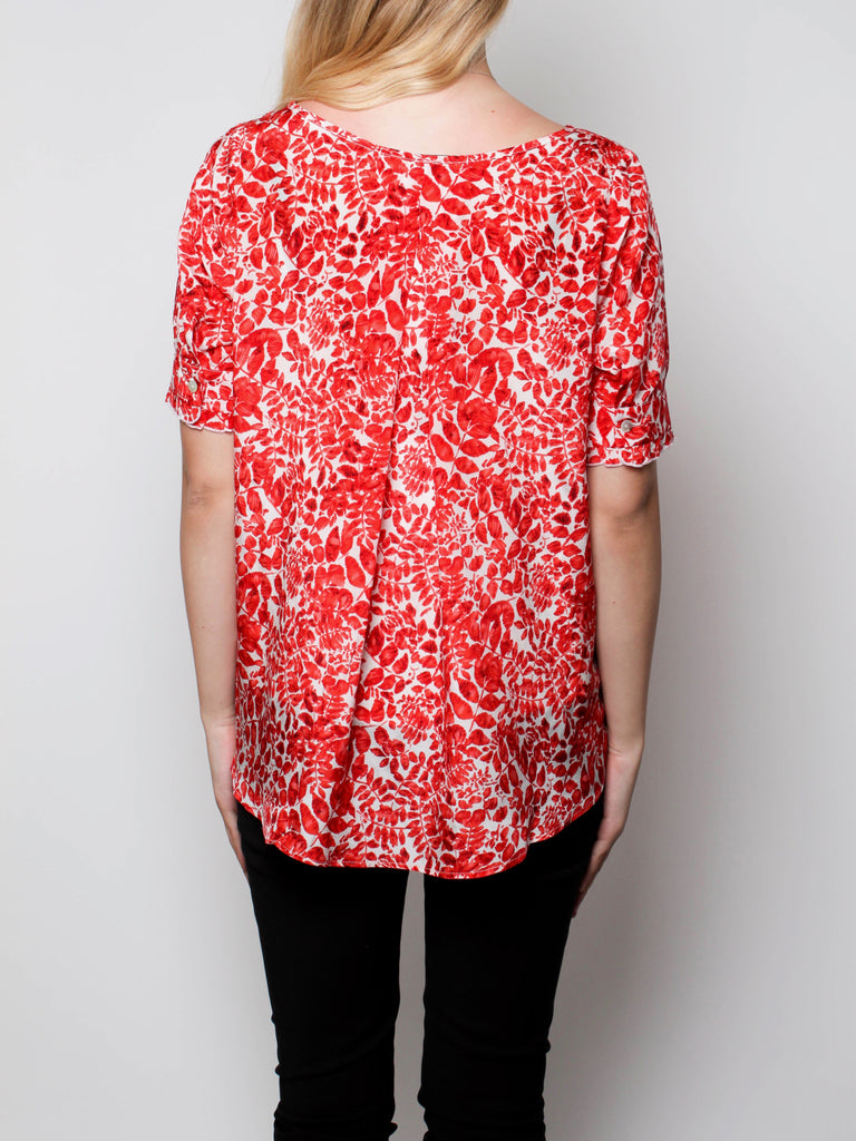 Munro Shirt - Red Fauna