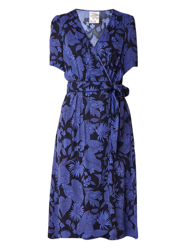 Adaria Dress - Tropically Blue