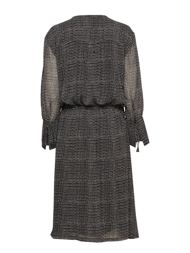 Calla Woven Dress - Black