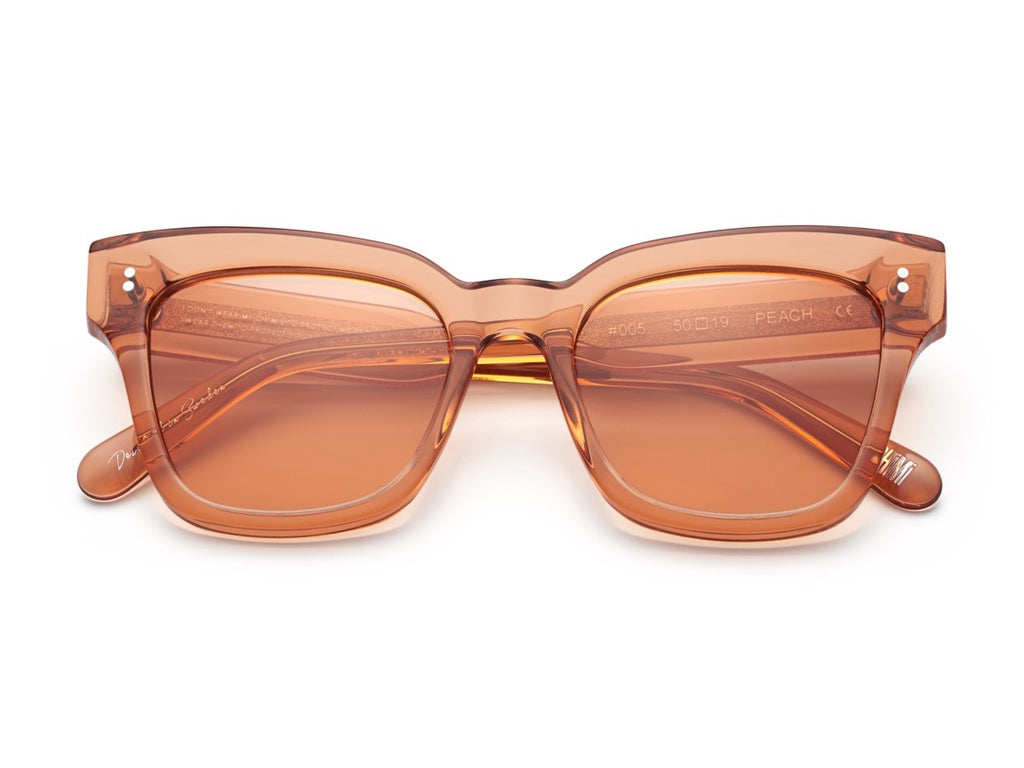 Chimi Peach Sunglasses Clear #005