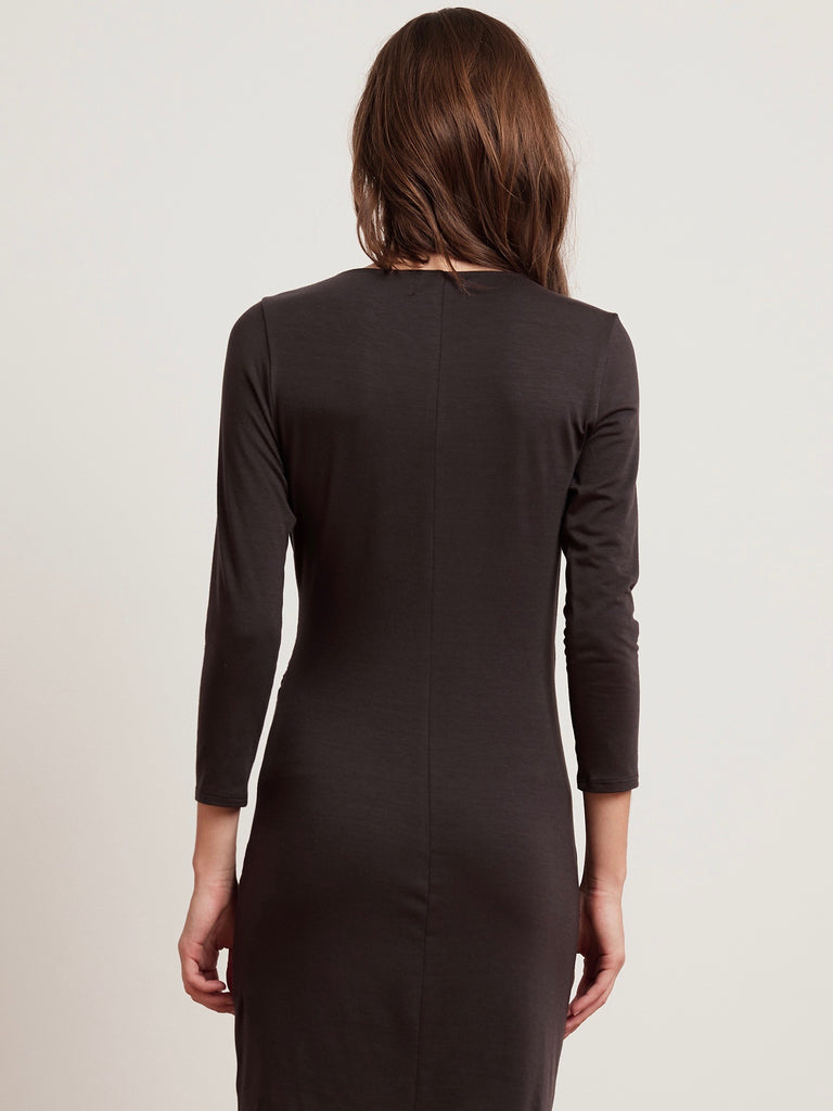 Carolyn Jersey Dress - Graphite
