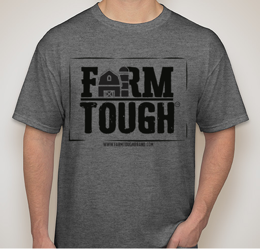 #FarmTough - Barn - Screen Printed T Shirt