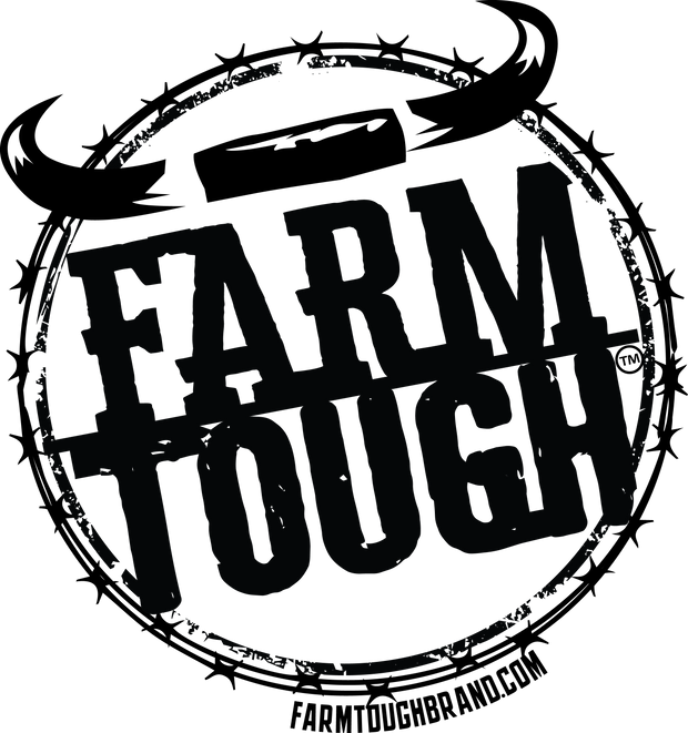 #FarmTough - Horns & Barbed Wire - Tank Top