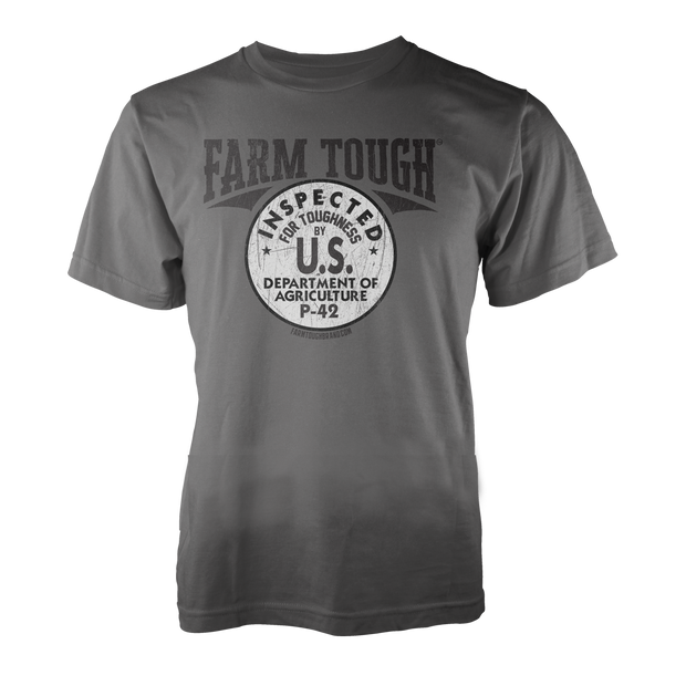 #FarmTough - Inspected for Toughness - TShirt