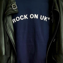 ROCK ON UK® Men's Soft Style T-Shirt - Navy