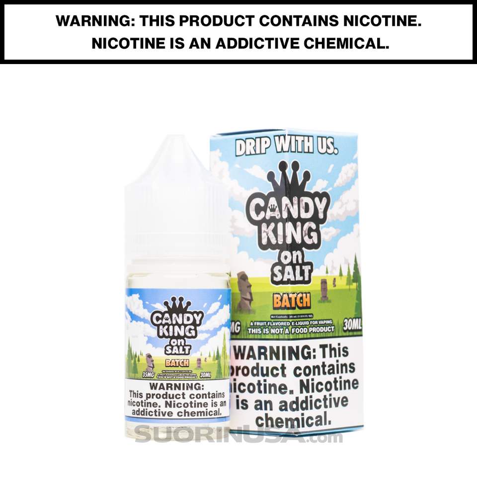 Sour Batch - Candy King E-Juice by DripMore - Salt Nic