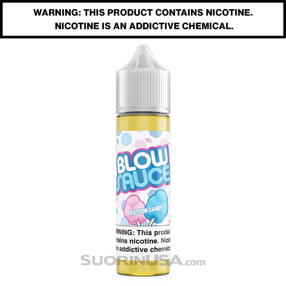 BlowSauce Cotton Candy E-Juice by DripFire - 60mL
