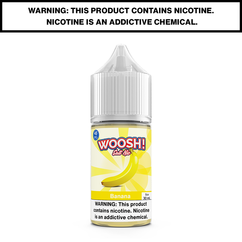 WOOSH - BANANA - 30mL Salted 45mg