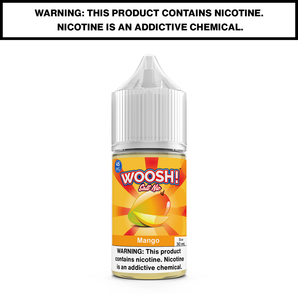 WOOSH - MANGO - 30mL Salted 45mg