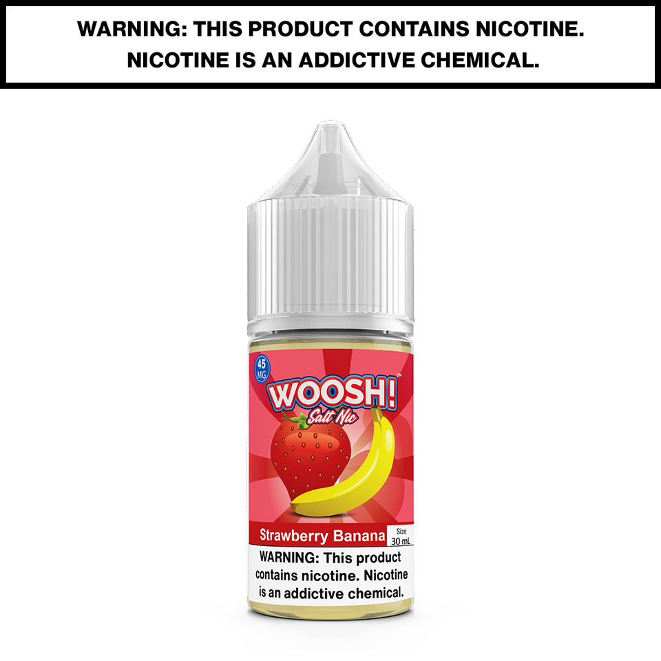 WOOSH - STRAWBERRY BANANA - 30mL Salted 45mg