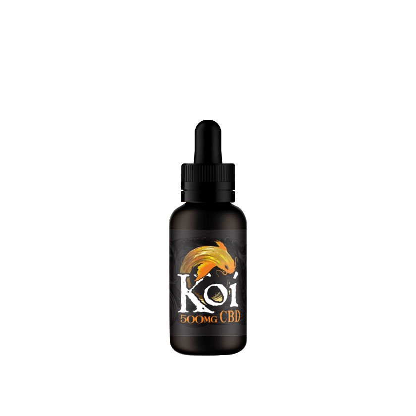 Koi CBD Vape Juice - 30mL - Vanilla Caramel Custard (Gold)