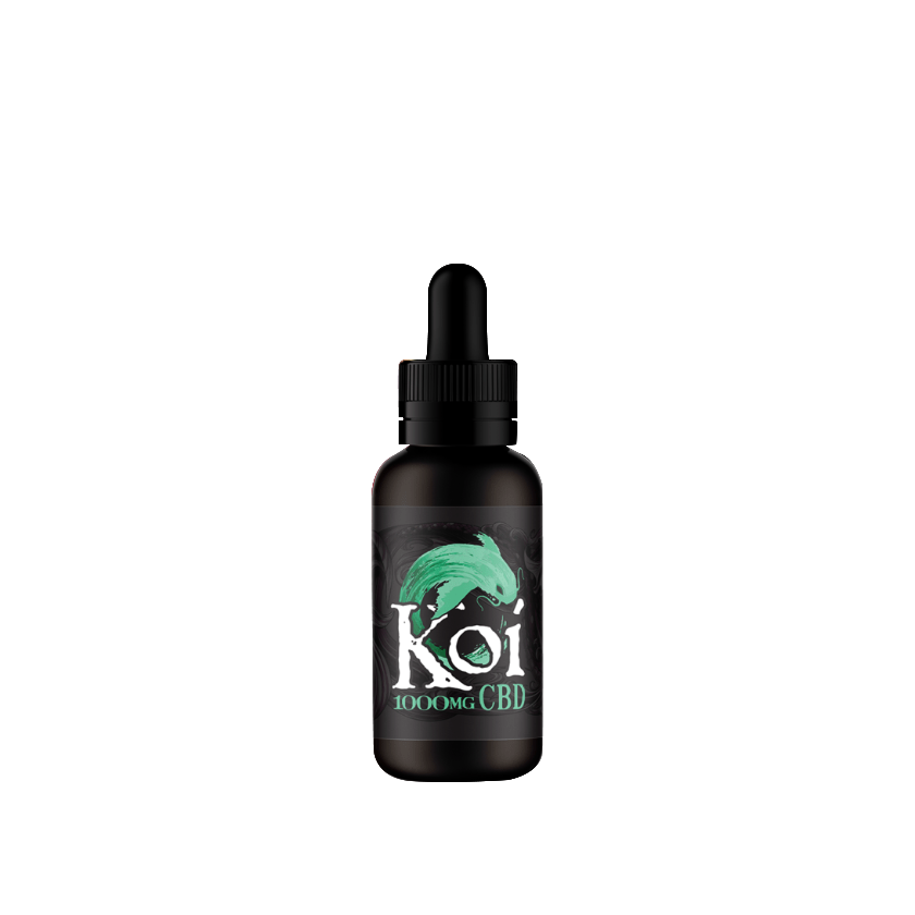 Koi CBD Vape Juice - 30mL - Watermelon Green Apple Sour (Jade)