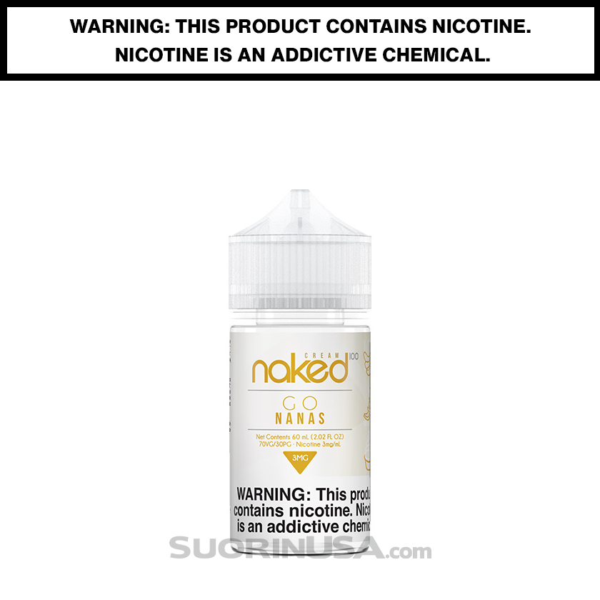 Naked 100 Cream GO NANAS 60mL eJuice