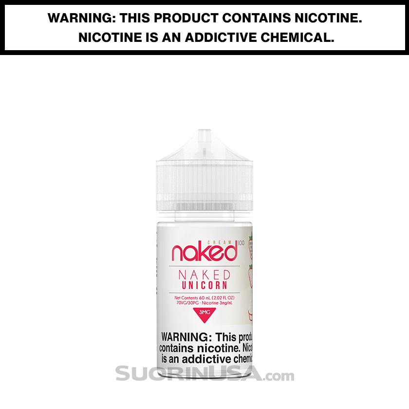 Naked 100 Cream NAKED UNICORN 60mL eJuice