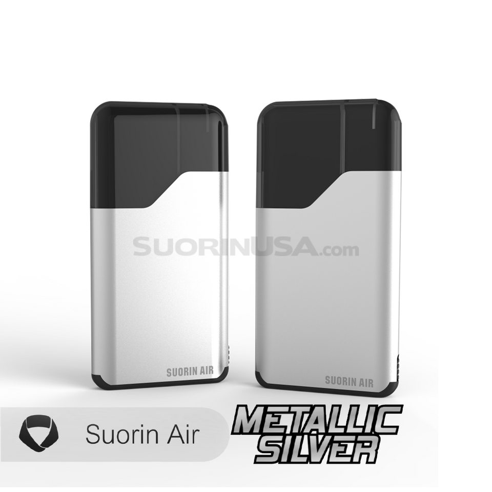 Suorin Air Metallic Silver - Pod System Device with Cartridge Kit