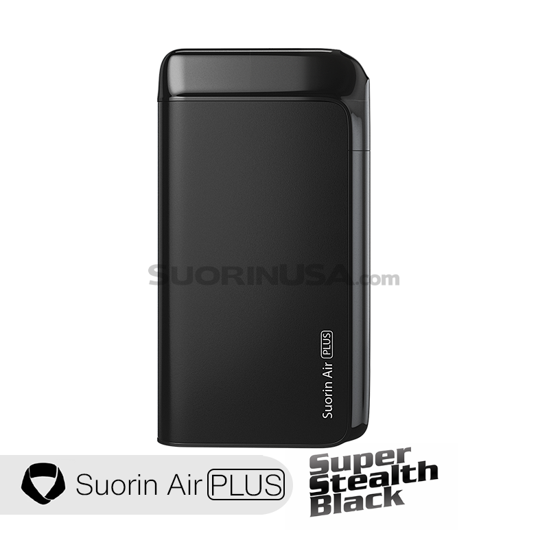 Suorin Air Plus Black Pod System Device Full Kit (With 2 Pods)