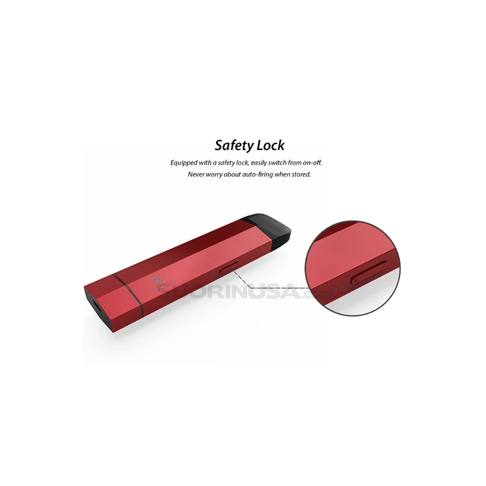 Suorin Edge Red Pod System Device Full Kit