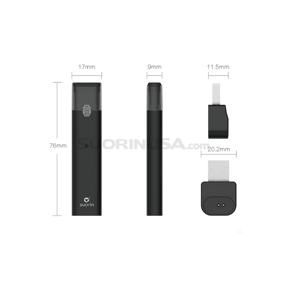 Suorin iShare Pod System Device with Cartridge Kit (Metal Edition)