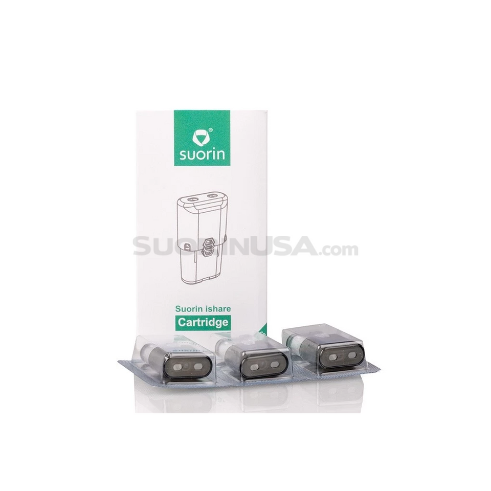 Suorin iShare Pods - Replacement Cartridge - 3 pack