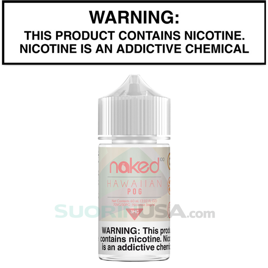 Naked 100 Fruit HAWAIIAN POG 60mL eJuice Standard