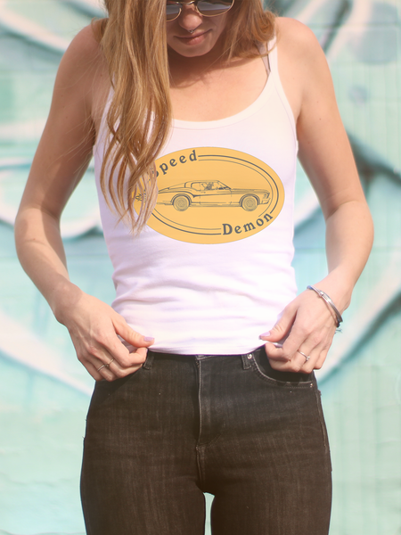 Ladies Graphic Tanks