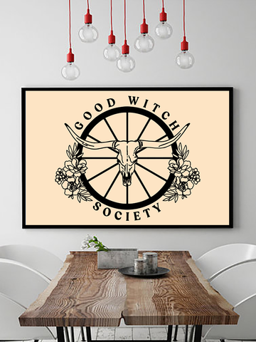 Good Witch Society Poster Print - Clarafornia