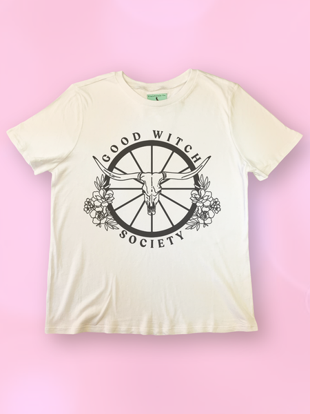 Good Witch Society Longorn T Shirt - Clarafornia